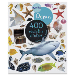 Eyelike Ocean Reusable Stickers, Book Cover