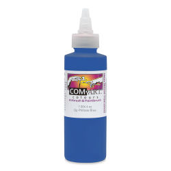 Iwata Com-Art Airbrush Color - 4 oz, Opaque Phthalo Blue
