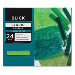 Blick Studio Pastels, Landscape, Set of 24