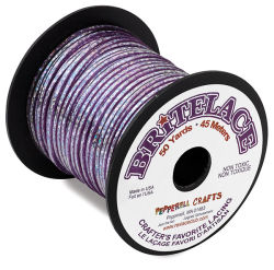 Rexlace Britelace - 50 yards, Purple Holographic