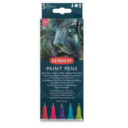 Derwent Graphik Line Painters - Set 3, Pkg of 5