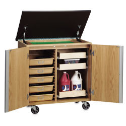 Diversified Woodcrafts Write-n-Roll Cabinet