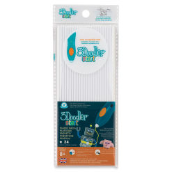 3Doodler Start EDU Refill Strands - White, Pkg of 24