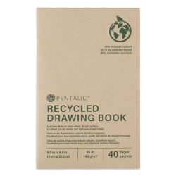 Pentalic Recycled Drawing Books