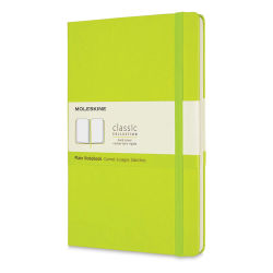 "Moleskine Classic Hardcover Notebook - Light Green, Blank, 8-1/4"" x 5"""