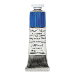 Michael Harding Artists Oil Color - Phthalo Blue Lake, 40 ml tube
