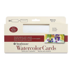 Strathmore Cards and Envelopes - Watercolor, Slim, Box of 10