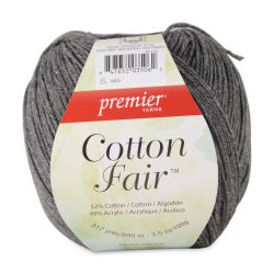 Premier Yarn Cotton Fair Yarn - Slate Grey