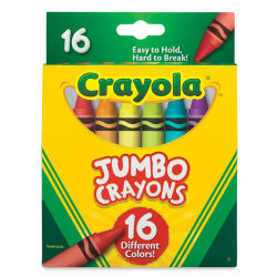 Crayola Jumbo Crayons - Set of 16