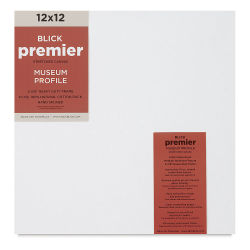 Blick Premier Museum Profile Cotton Canvas - 12'' x 12'', 2-3/8'' Profile