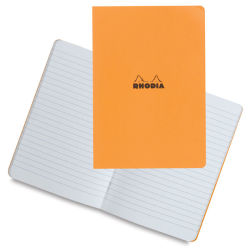 Rhodia Classic Staplebound Notebook - Lined, Orange