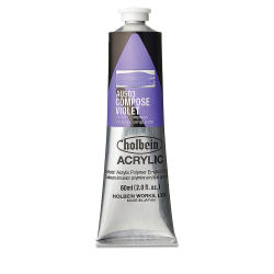 Holbein Heavy Body Artist Acrylics - Compose Violet, 60 ml tube