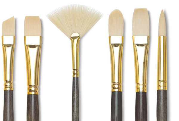 Princeton Dakota Series 6300 Firm Synthetic Hair Brushes and Set