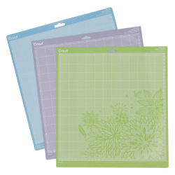 Cricut Cutting Mats - Pkg of 3, Light, Standard, and Strong Grip