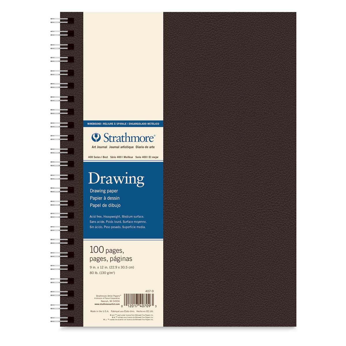 Daler Rowney Simply Drawing Paper Pad 50 Sheets Acid Free A4