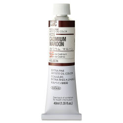 Holbein Artists' Oil Color - Cadmium Maroon, 40 ml
