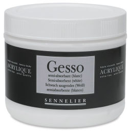 Semi-Absorbent Gesso for Watercolor