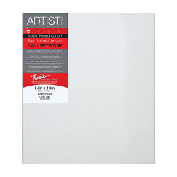 Fredrix Profile Cotton Canvas - 14'' x 18'', Gallerywrap