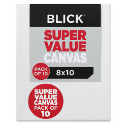 Blick Super Value Canvas Pack - 8'' x 10'', Pkg of 10