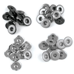 We R Memory Keepers Eyelets - Cool Metal Assortment, Wide, Pkg of 40