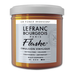 Lefranc & Bourgeois Flashe Vinyl Paint - 125 ml, Deep Gold