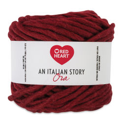 Red Heart An Italian Story Ora Yarn - Barolo