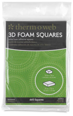 Therm O Web 3D Foam Squares