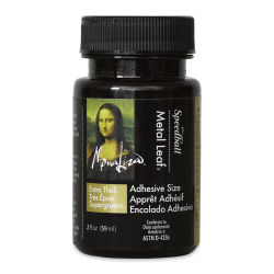 Mona Lisa Extra Thick Metal Leaf Adhesive Size - 2 oz