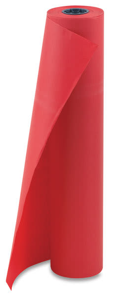 Pacon Decorol Flame Retardant Paper Roll - 36'' x 1000 ft, Festive Red