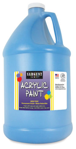 Sargent Art Acrylics - Turquoise, 1/2 Gallon
