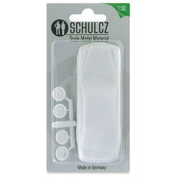 "Schulcz Scale Model Vehicle - Sedan, 1:50, 1/4"" (front of package)"
