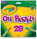 Crayola Oil Pastels - Assorted Colors, Set of 28