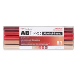Tombow ABT PRO Alcohol Markers - Red Tones, Set of 5