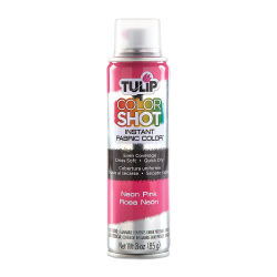 Tulip ColorShot Instant Fabric Color Spray - Neon Pink