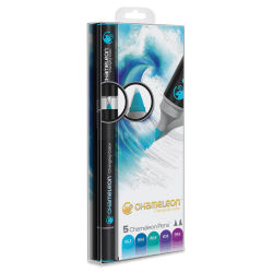 Chameleon Color Tones Marker Set - Cool Tones, Set of 5