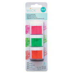 We R Memory Keepers Wick Candle Making Dyes - Pkg of 3, Neon Colors