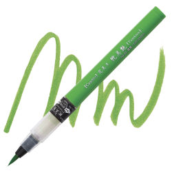 Kuretake Cambio Tambien Brush Pen - Sap Green