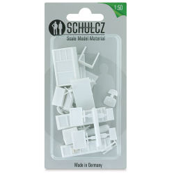"Schulcz Scale Model Furniture Set - Office, 1:50, 1/4"" (front of package)"