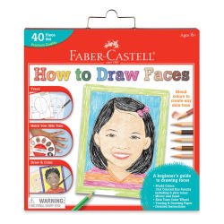 Faber-Castell World Colors How to Draw Faces (Packaging Front)