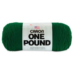 Caron One Pound Acrylic Yarn - 1 lb, 4-Ply, Kelly Green