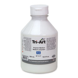 Tri-Art Finest Acrylic Polymer - Semi-Gloss, 500 ml