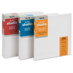Blick Studio Stretched Cotton Canvas