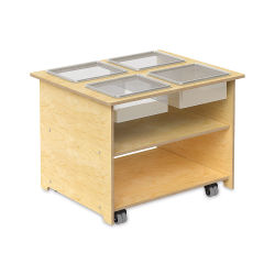Whitney Brothers Mobile Sensory Table