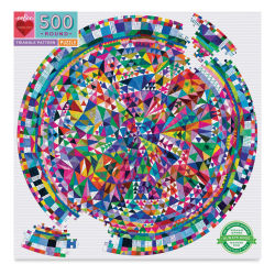 Eeboo Triangle Pattern 500 Piece Puzzle Box