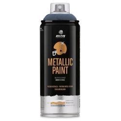 MTN Pro Metallic Spray Paint - Metallic Dark Blue, 400 ml