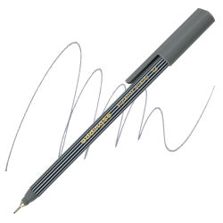 Edding 55 Fineliner Pen - Grey, 0.3mm