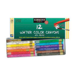 Sargent Art Water Color Crayons - Set of 12