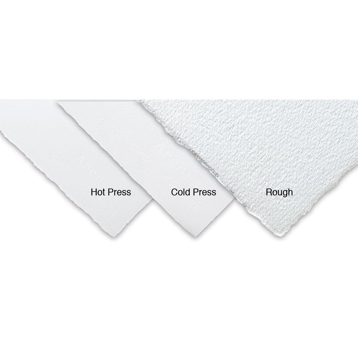 Arches Watercolor Paper Bright White 22 x 30 Inches 140 lb 10 Sheets