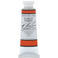 M. Graham Artists' Oil Color - Scarlet Pyrrol, 37 ml tube