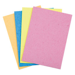 Hygloss Sponge 'Ums - Pkg of 4, 5'' x 7''